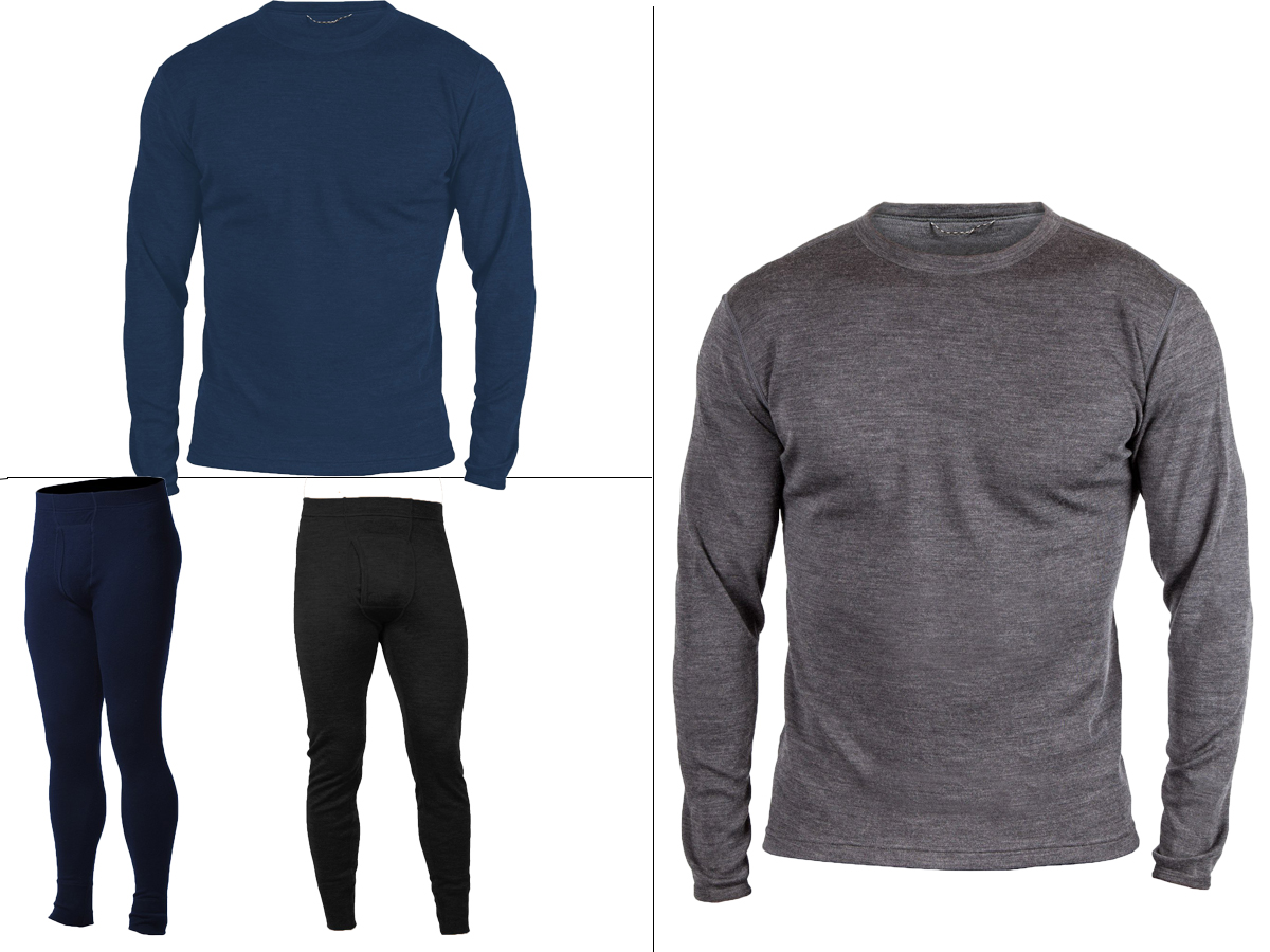 meriwool wool baselayers