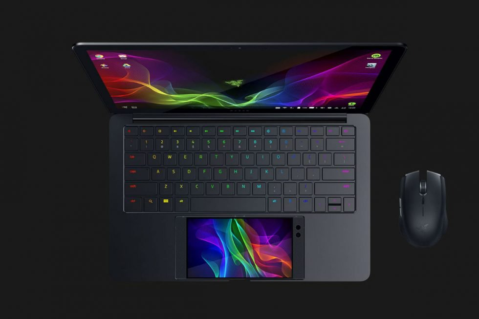 Razer Project Linda Top Down Laptop