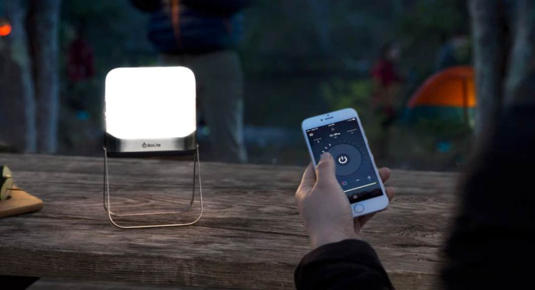 The Biolite BaseLantern XL: Small, Portable Flatpack Lantern