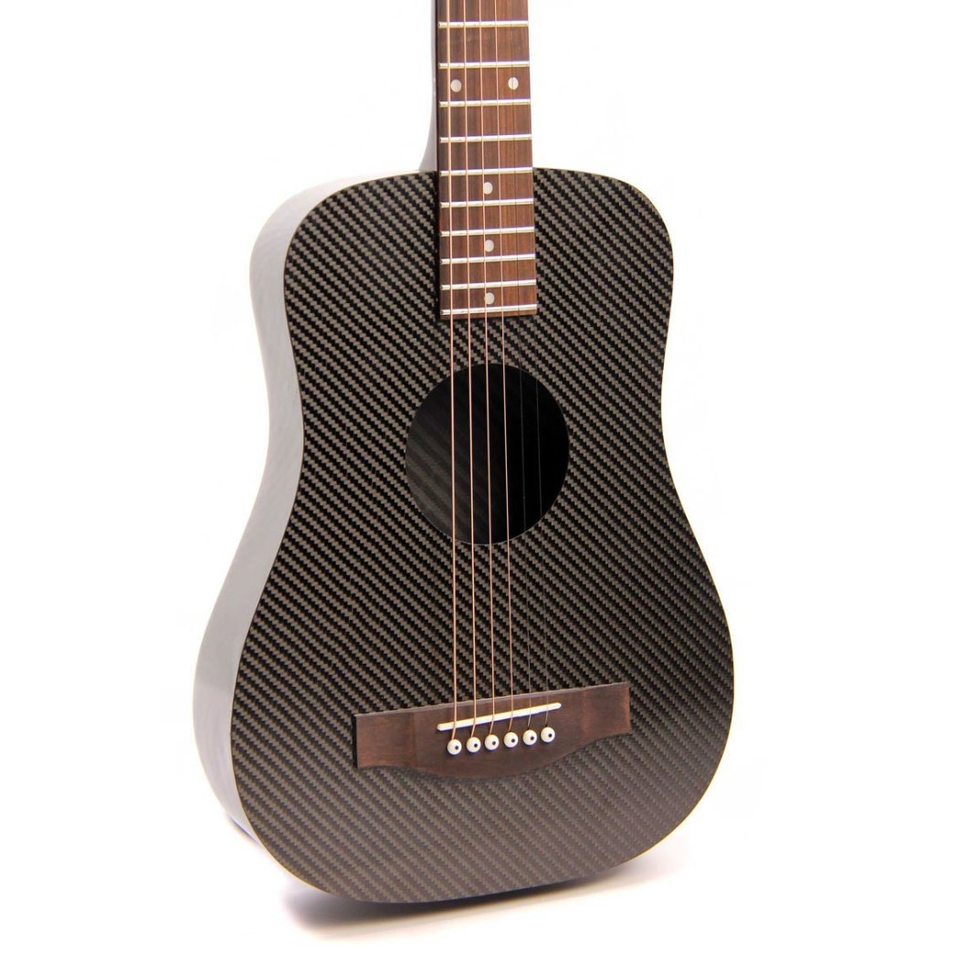 Klos Carbon Fiber Guitar: Light, Ultra-Durable Travel Guitar You Don't Have to Baby