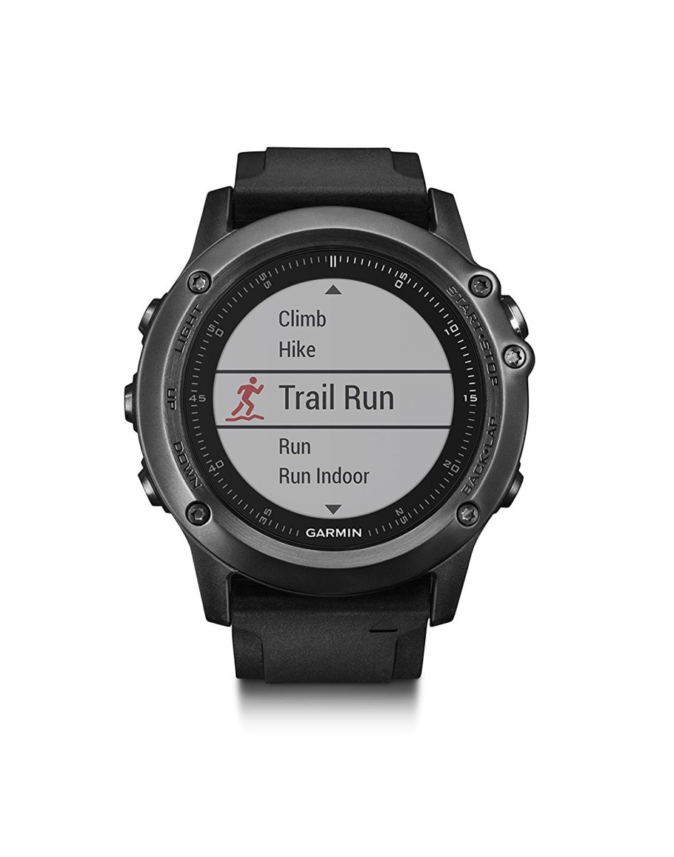 Garmin Fenix 3 Fitness GPS Watch: For The All-Terrain Adventurer