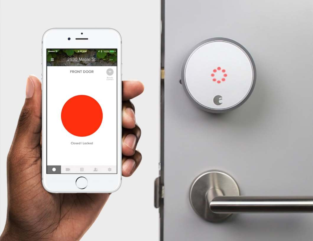 Open Doors With Your Phone and The August Smart Lock Pro