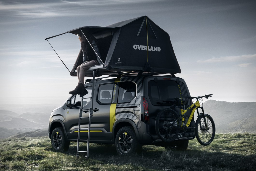Check Out This Peugeot Rifter Adventure Van Concept Car
