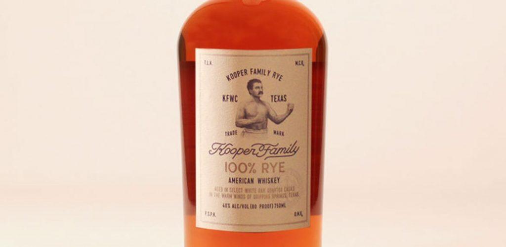Kooper Family Rye Texas Whiskey: Real Rye with Texas Pride