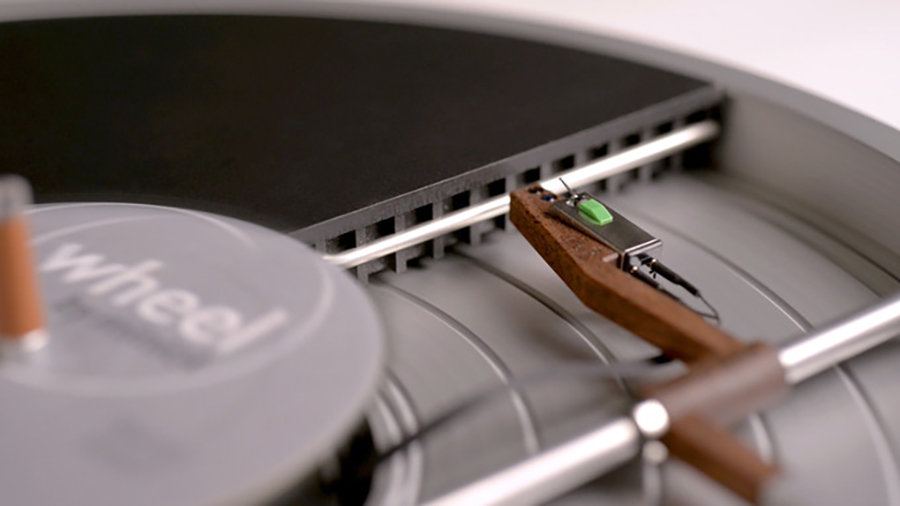 The Wheel Is the Minimalist Turntable We Want to Try Out