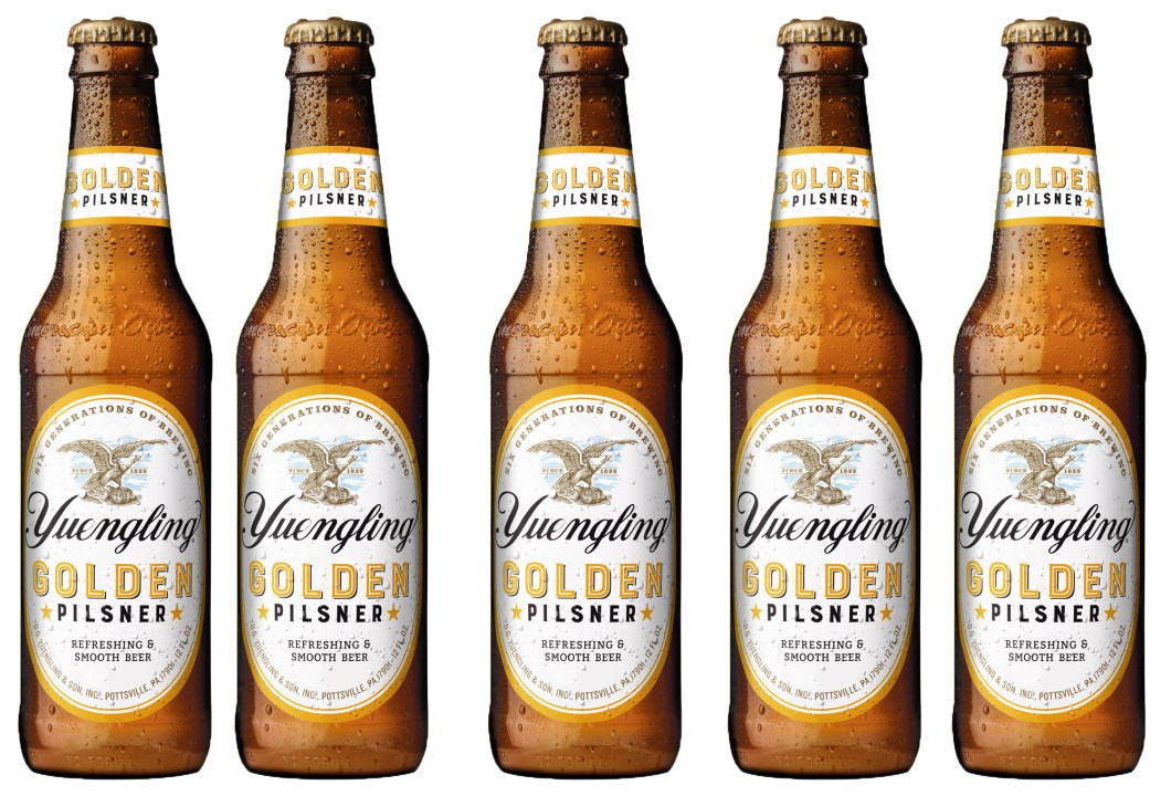 Yuengling Just Released Their Newest Beer – Golden Pilsner