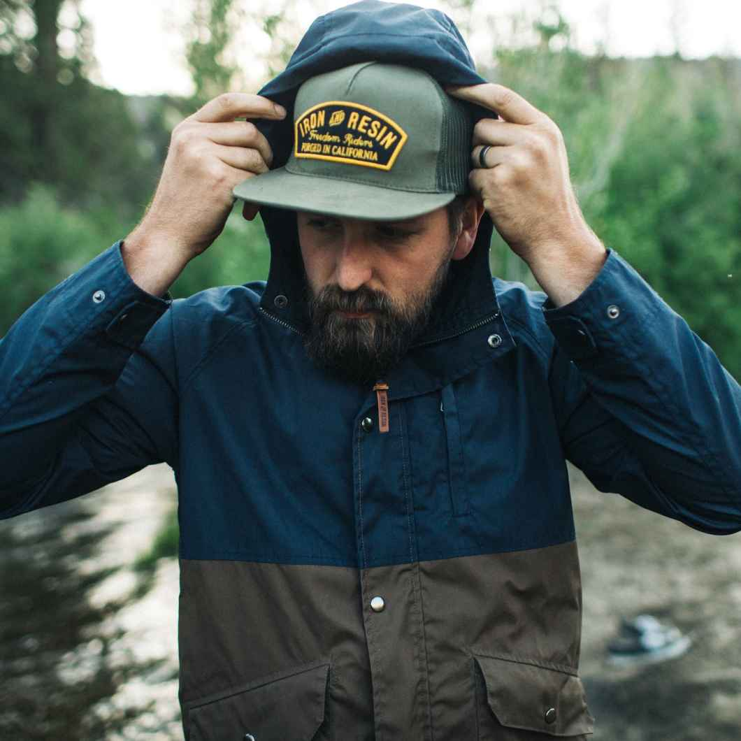 Iron and Resin Sentinel Jacket: Rain Jacket For The Open Road