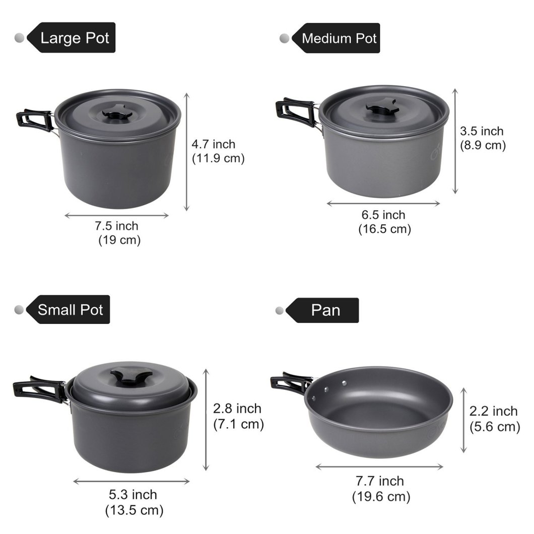 Yodo Cookware: Best Value All-in-One Camping Cookware Set