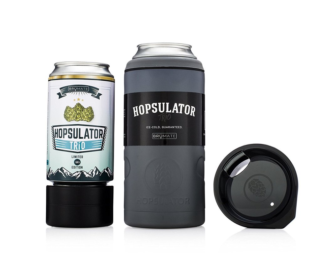 Brumate Hopsulator 3-in-1 Insulated Pint Glass Can Cooler