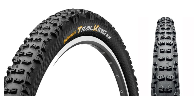 Continental Trail King Best Mountain Bike Tires