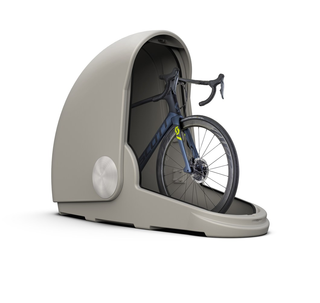 The Alpen Bike Pod Is A Stylish Home For Your Bike