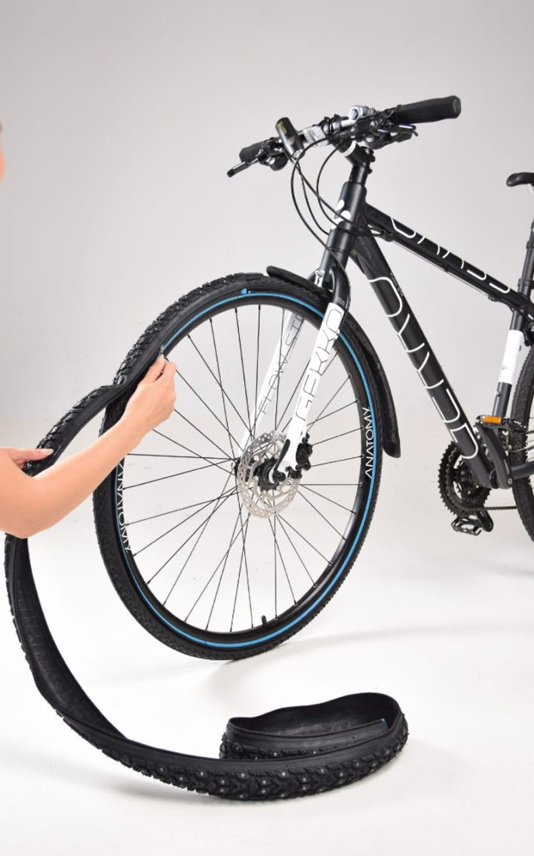 Retyre Modular Tires Are Zip-On Bike Tires
