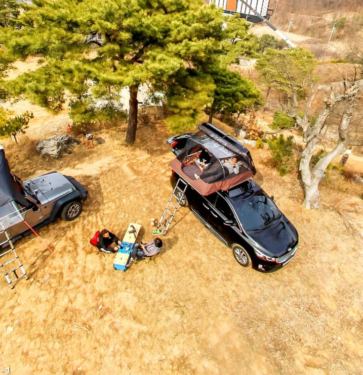 The iKamper SkyCamp Is Rooftop Fun For The Family