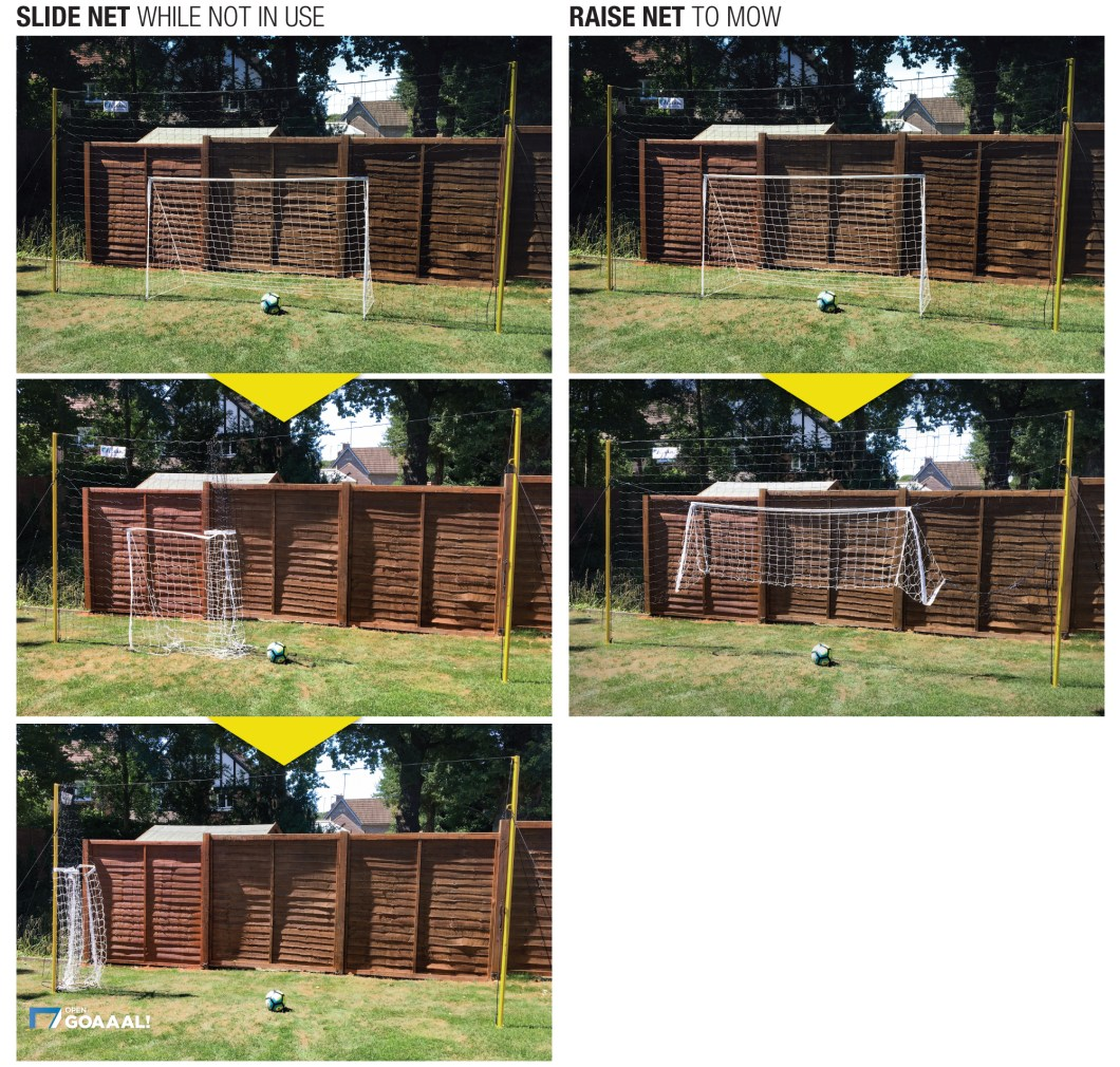 Open Goaaal–The World's Best Soccer Goal, Rebounder, and Backstop