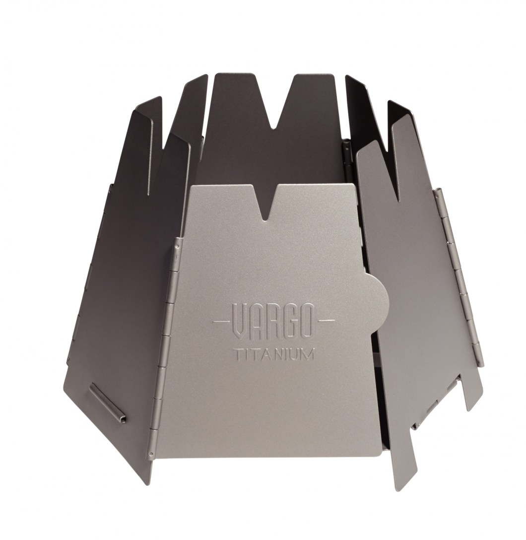 Vargo Hexagon: Titanium Wood Stove For Ultralight Backpacking