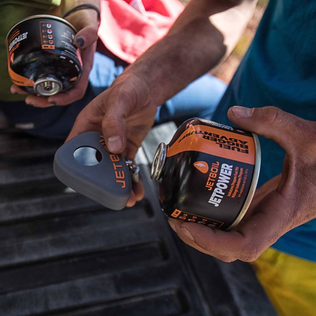 The Jetboil Jetgauge Weighs Your Fuel Canisters To See How Much Is Left