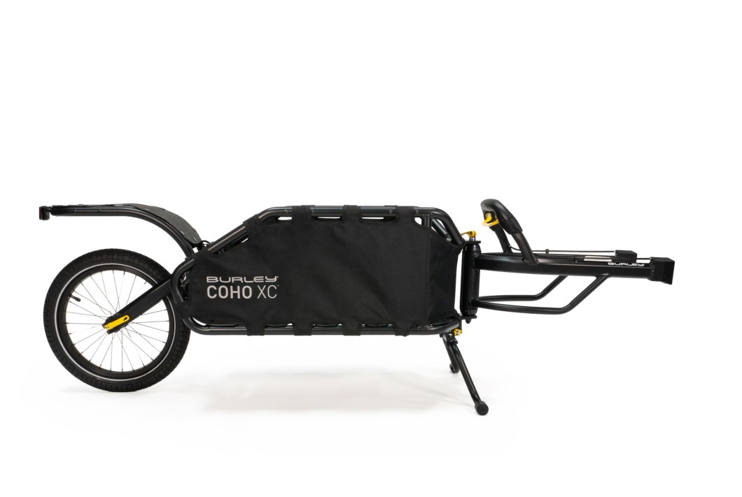 The Burley Coho XC Takes Your Gear Everywhere Your Bike Goes