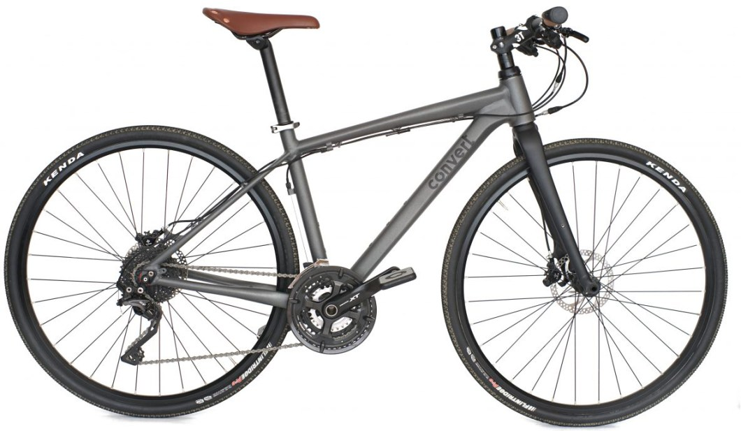The Convert FF1 Switches From Road Bike to MTB and Everything In Between