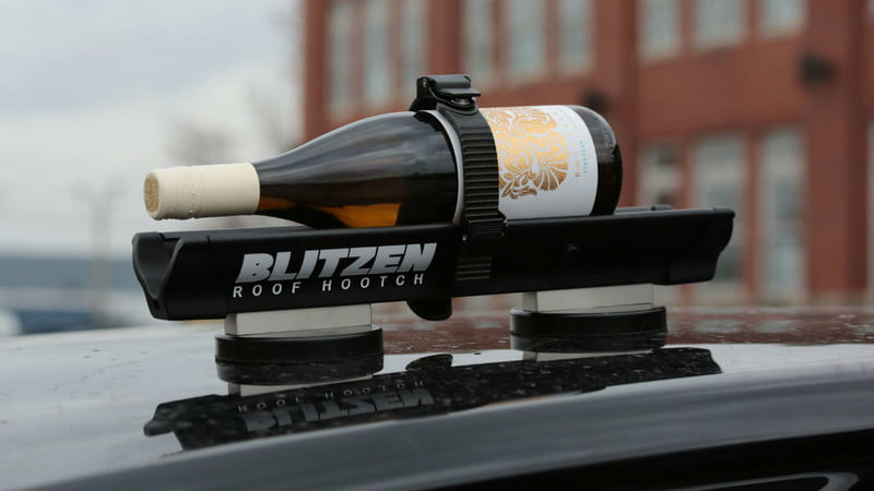 Use Blitzen To Chill Your Drinks – On The Roof Of Your Car