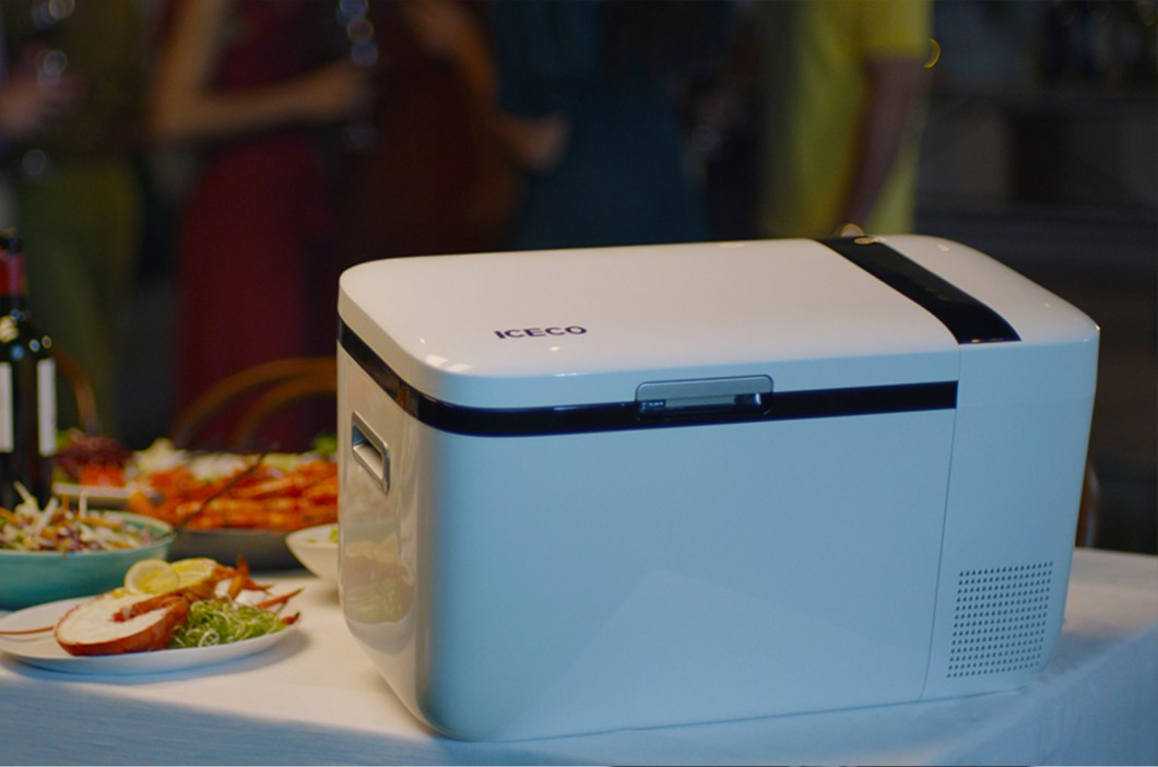 The iFreezer is a High-End Refrigerated Cooler Plus Freezer