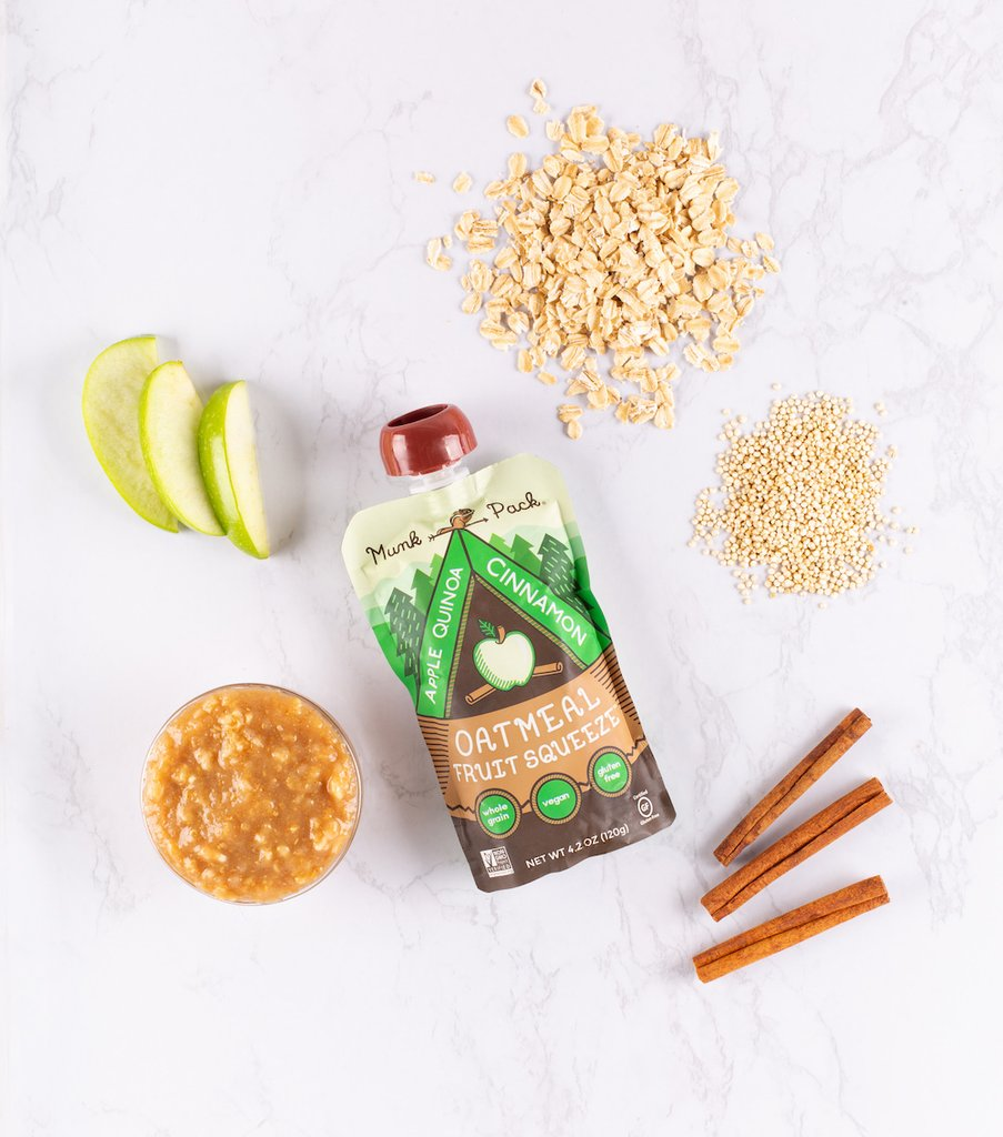 Munk Pack Oatmeal Fruit Squeeze Review