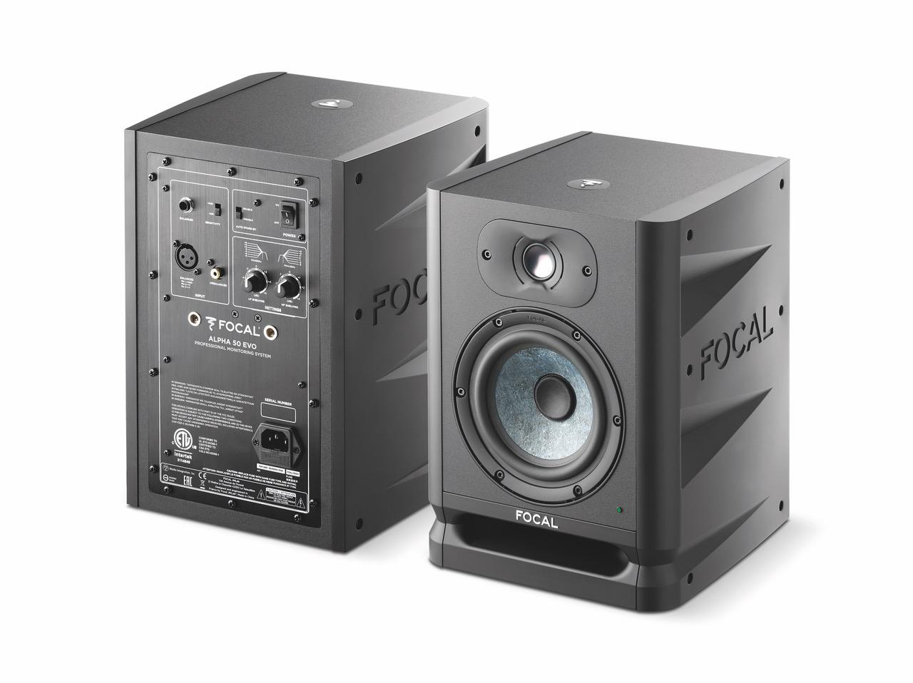 FOCAL Releases New ALPHA EVO Studio Monitors - GearGods