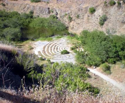 Sibley Quarry Pit Maze