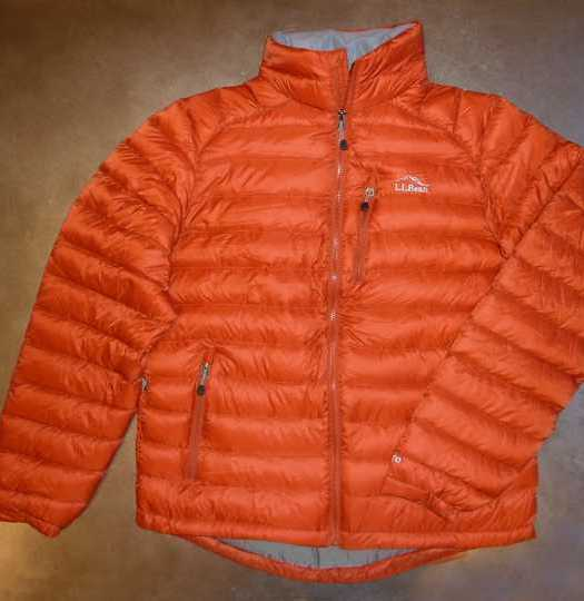 LL Bean Ultralight 850 Jacket