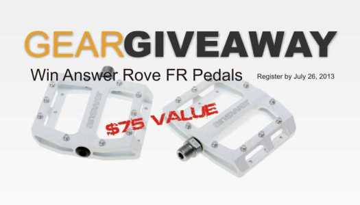 Answer Rove FR Pedal GearGiveaway