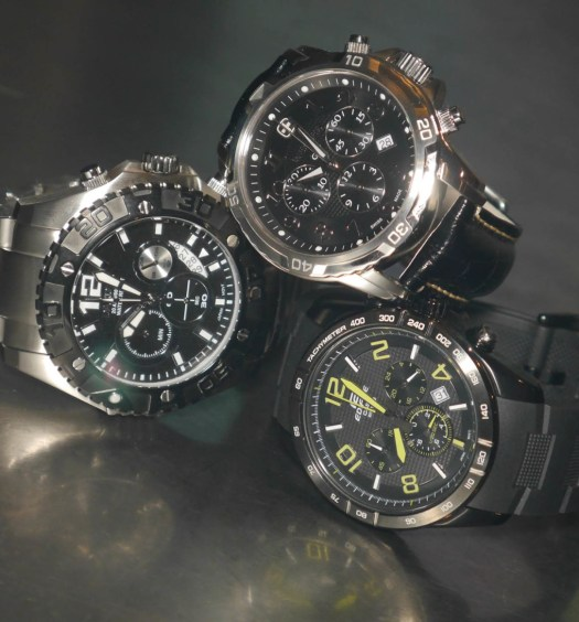 Analog Chronographs