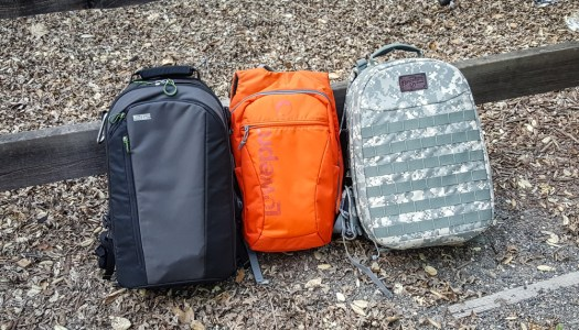 Camera Backpacks From FireSign, LowePro and Mindshift