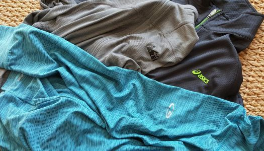 Running Zip Shirt Reviews