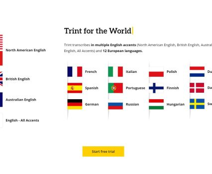 Trint Languages