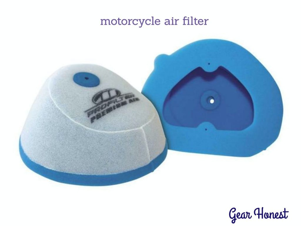 how to clean motorcycle air filter