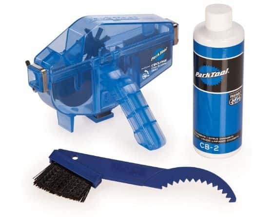 otorcycle chain cleaner brush