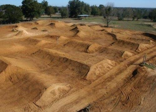 Dirt Bike Track to Practice