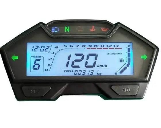 dirt bike speedometer