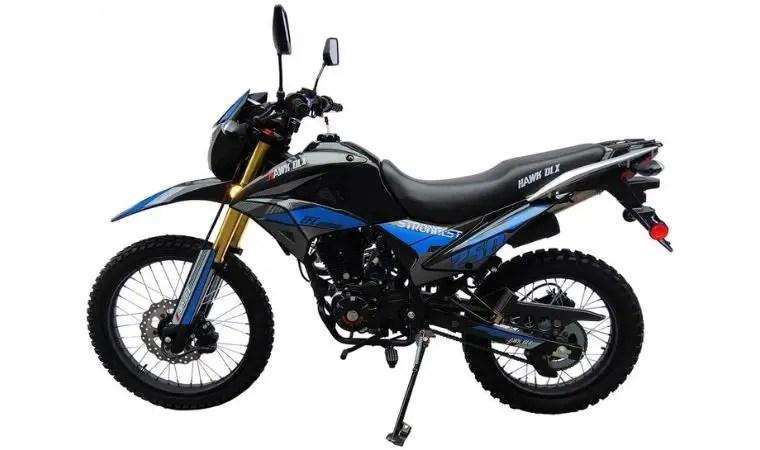 hawk dirt bike review