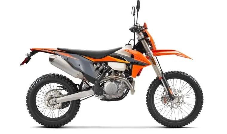 KTM 500 EXC 4 stroke dirt bike for trail riding
