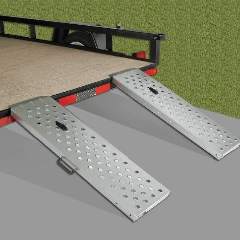 folding motorcycle ramps for pickups