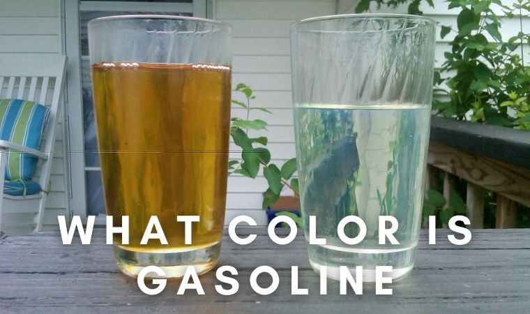 what color is gasoline