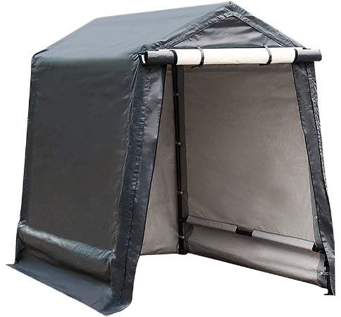 portable motorcycle shed