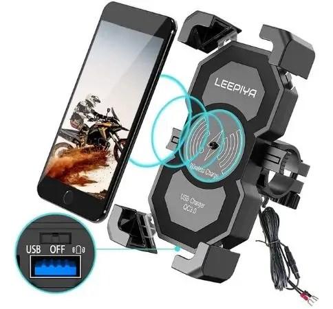 best waterproof motorcycle phone mount