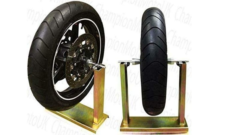 Motorcycle Wheel Balancing