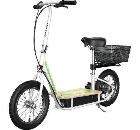best electric scooter with seat for commuting
