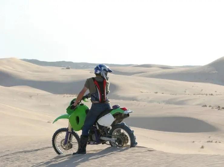 Suspension Setup For Sand