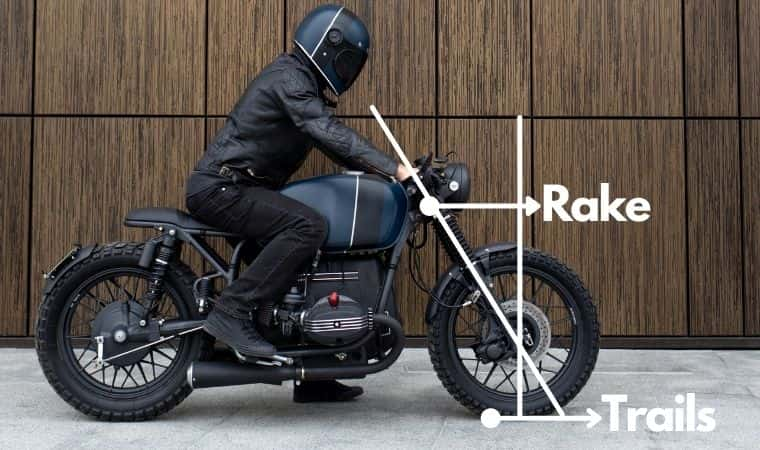 Motorcycle Rake And Trail Explained