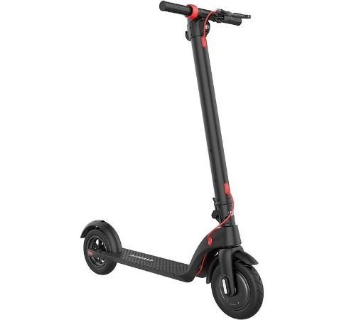 folding electric kick scooter with removable battery