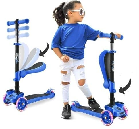 three wheeled scooters for toddlers