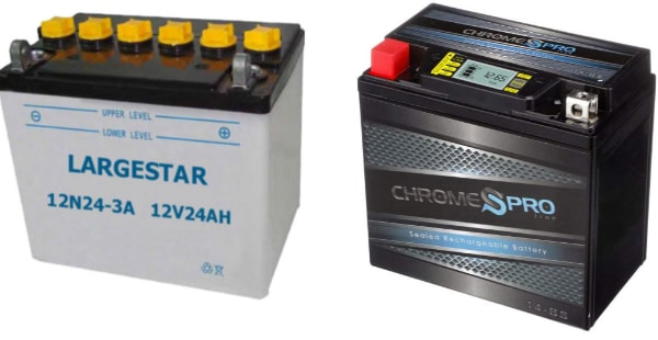 Wet Cell Vs Dry Cell Motorcycle Battery